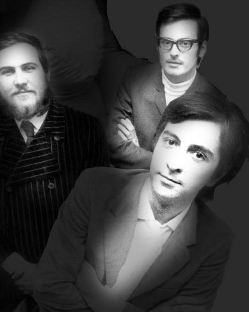 Arhitectii care au creat Sacco. De la stanga la dreapta: Franco Teodoro, Cesare Paolini, Pierro Gatti.