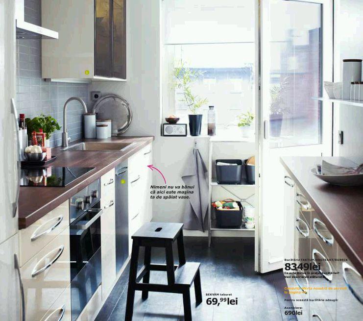 Bucataria FAKTUM/ ABSTRAKT/ RUBRIK pret 8349 lei de la IKEA