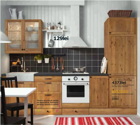 Bucataria FAKTUM/ FAGERLAN 4373 lei de la IKEA
