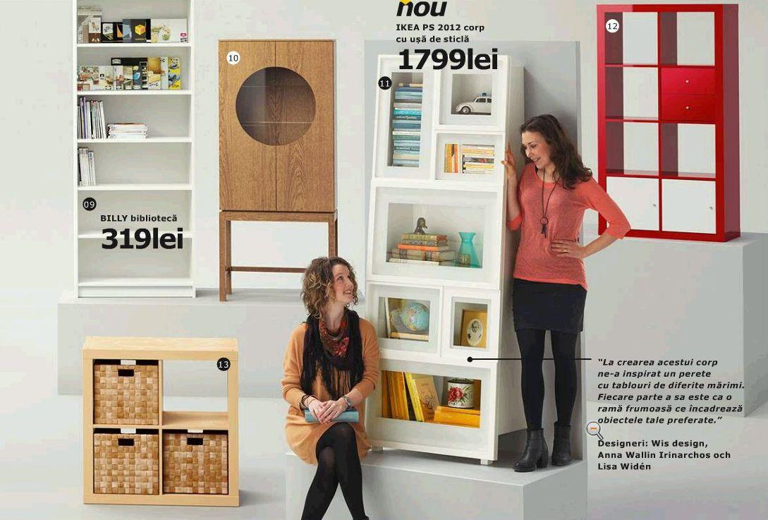 Designeritele de la WIS prezentate in catalogul IKEA 2013