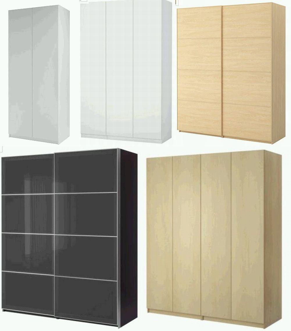 Dulapuri din gama PAX de la IKEA cu pretul intre 510 lei (2 uşi) şi 2640 lei (cu usi glisante)
