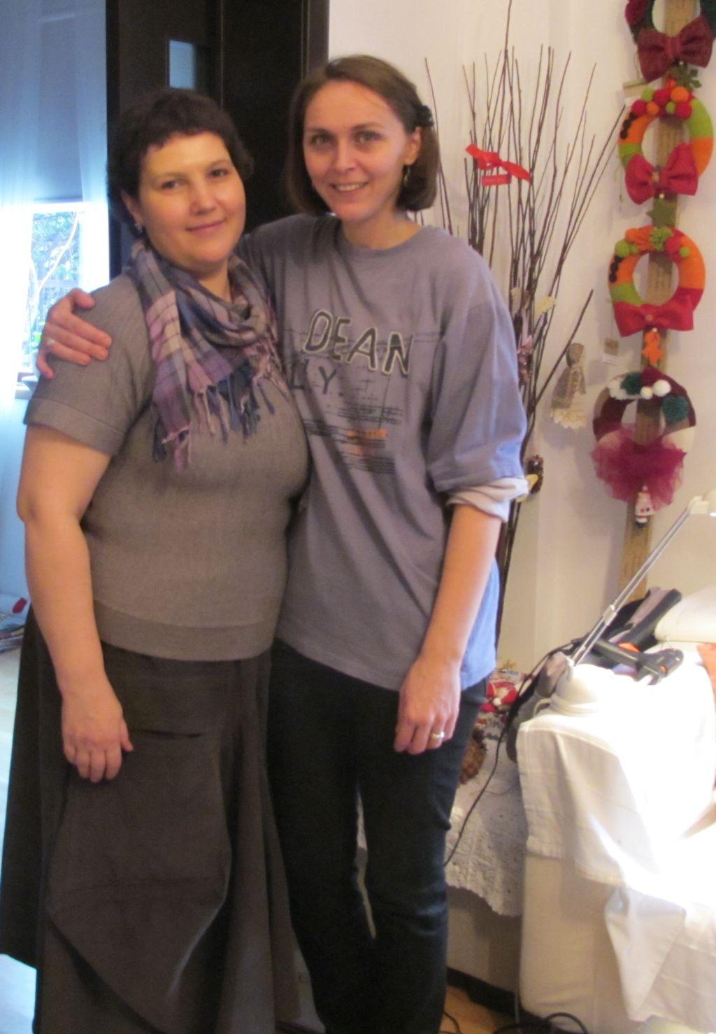 Alaturi de Claudia Trandafirescu in primitoarea ei casa
