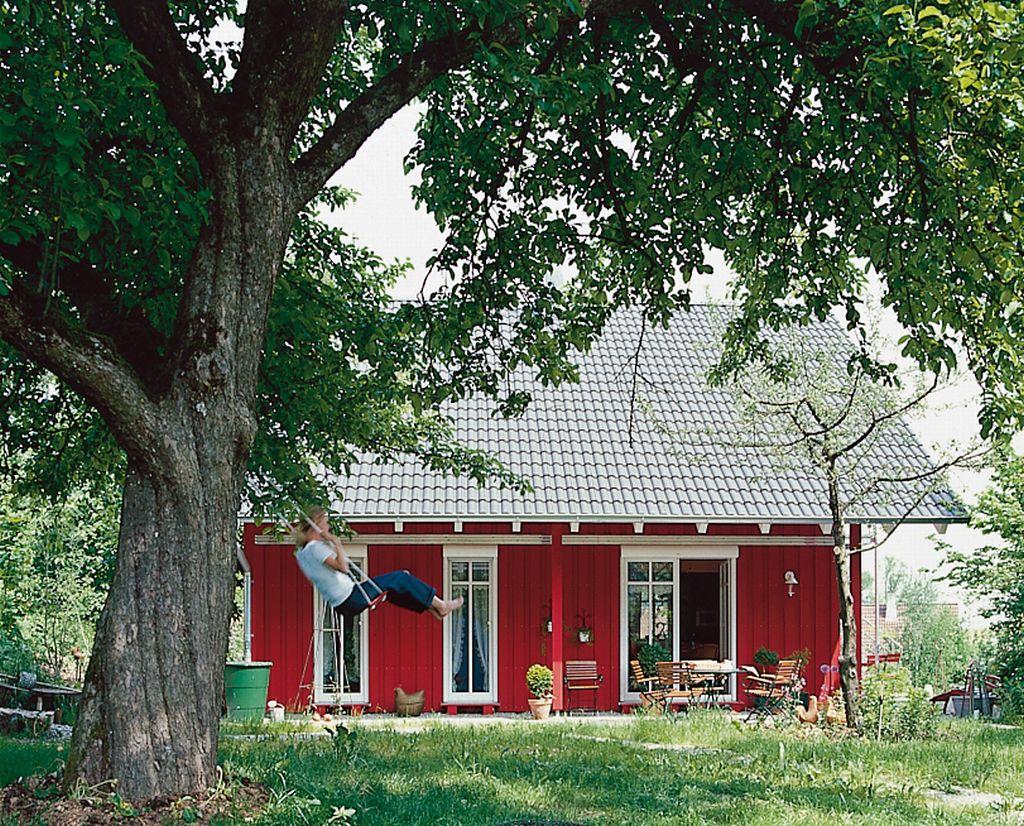 Gradina casei Simon construita de firma germana PLATZ