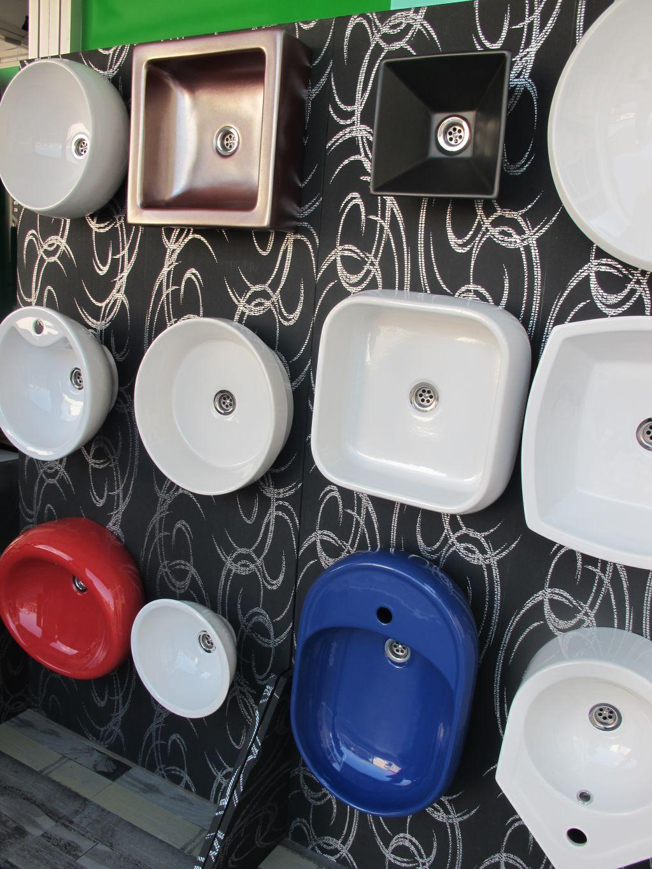 Lavoarele speciale produse de Bianca Ceramica prezentate la  targul ISH Frankfurt 2011