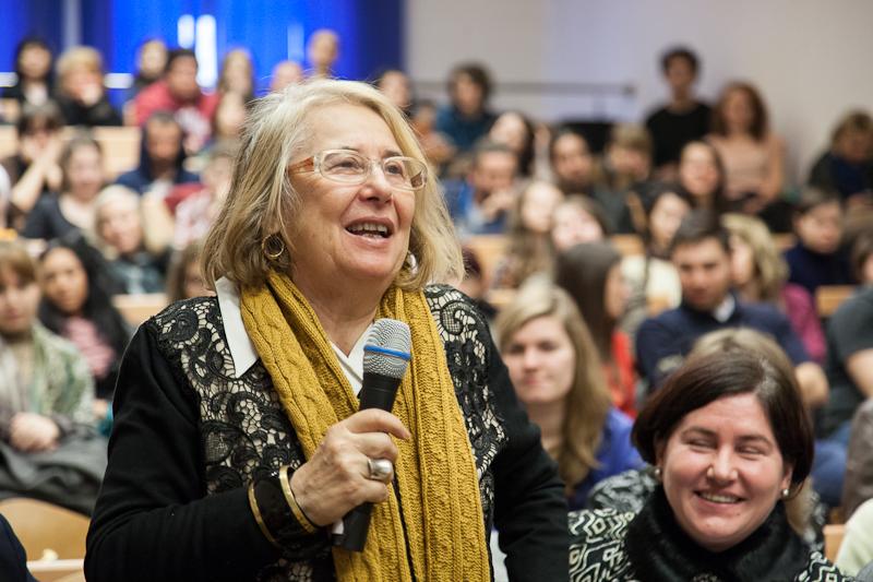 Maestra Teodora Stendl. FOTO Andrei Iliescu