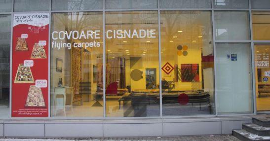 Magazinul Flying Carpets din Bd. Titulescu 10 Bucuresti este deschis zilnic 11-20 sambata 10-16