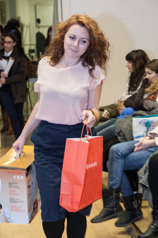 Nicoleta Bercaru premianta anului I Master. Foto Andrei Iliescu