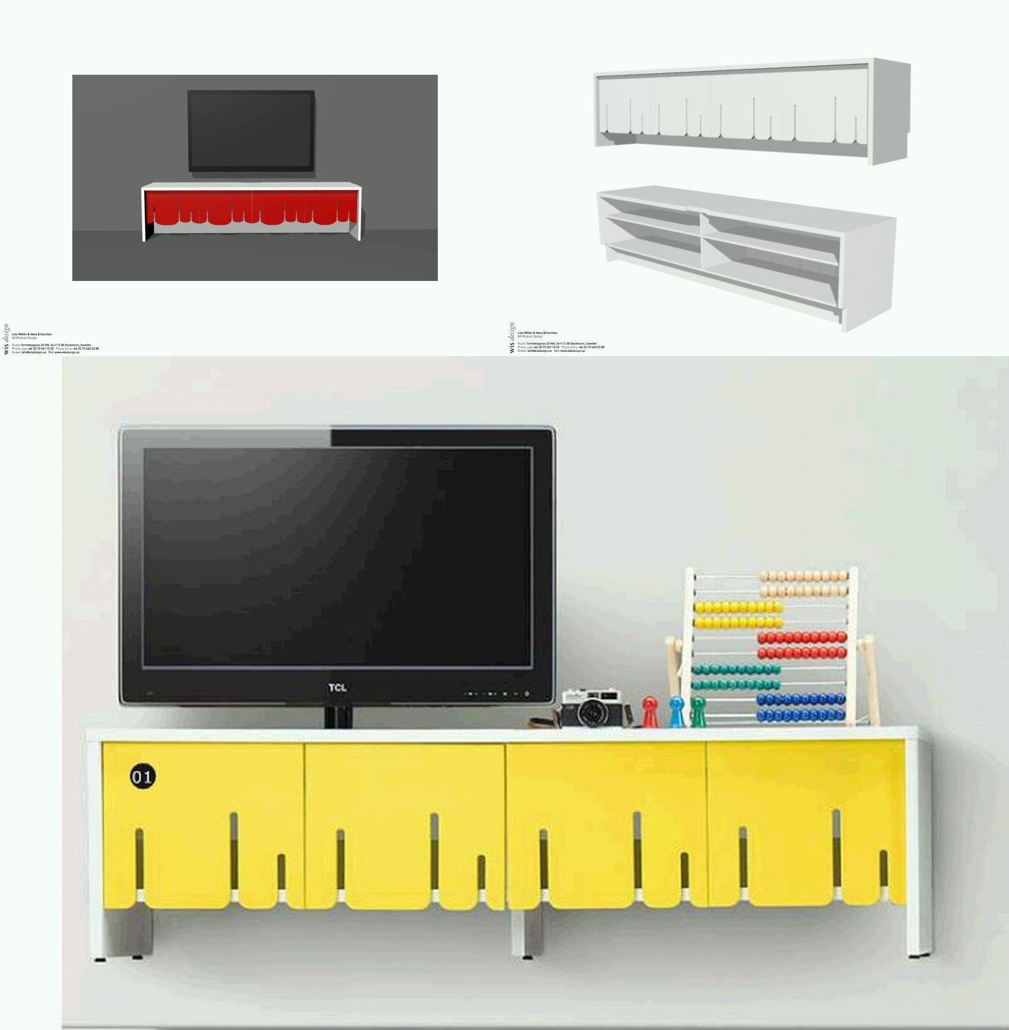 Wis Design moodboard pentru comoda tv PS IKEA