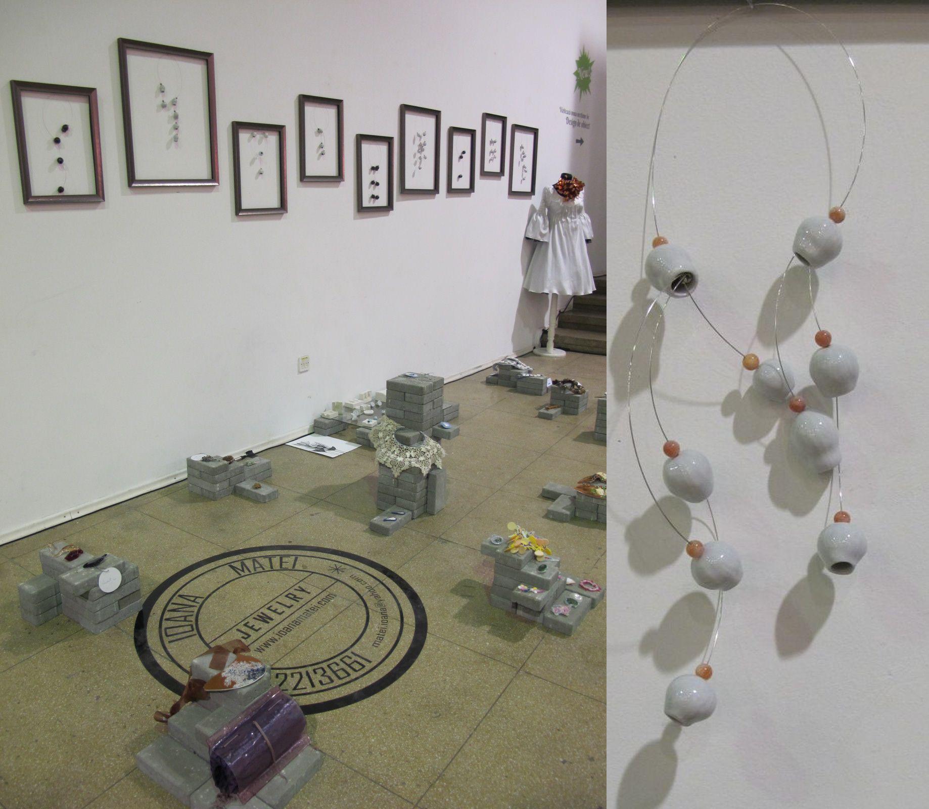 Bijuterii contemporane create de Ioana Matei www.ioanamatei.com le poti gasi in magazinele Idelier din Bucuresti si Newelle din Constanta. Absolut surprinzatoare!