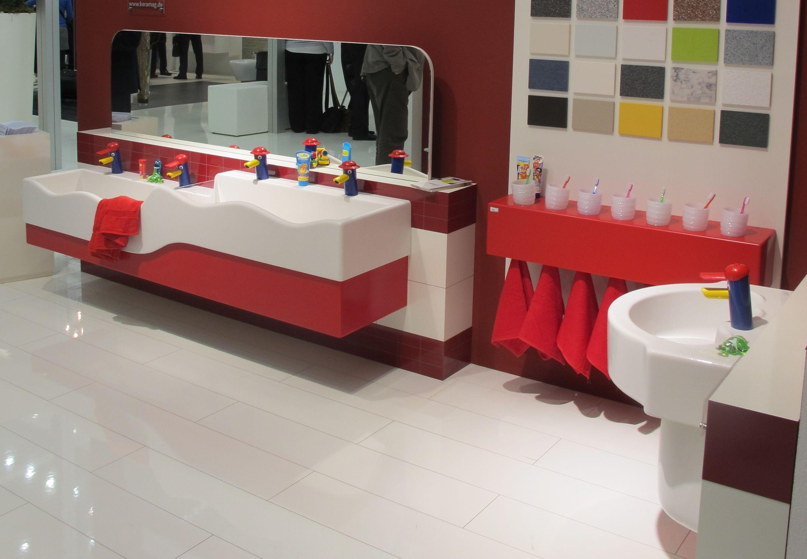 Colectia de obicte sanitare si accesorii pentru copii de la Keramag