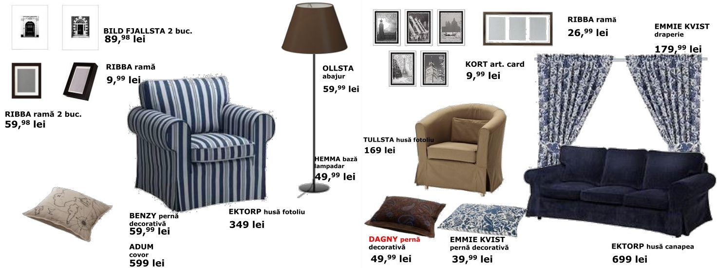 Decoratiuni IKEA pentru casa potrivite atmosferei din sezonul rece