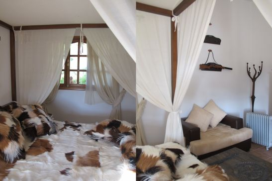 Detalii din dormitor Villa Tabarka domeniul Ksar Ezzit din Tunisia