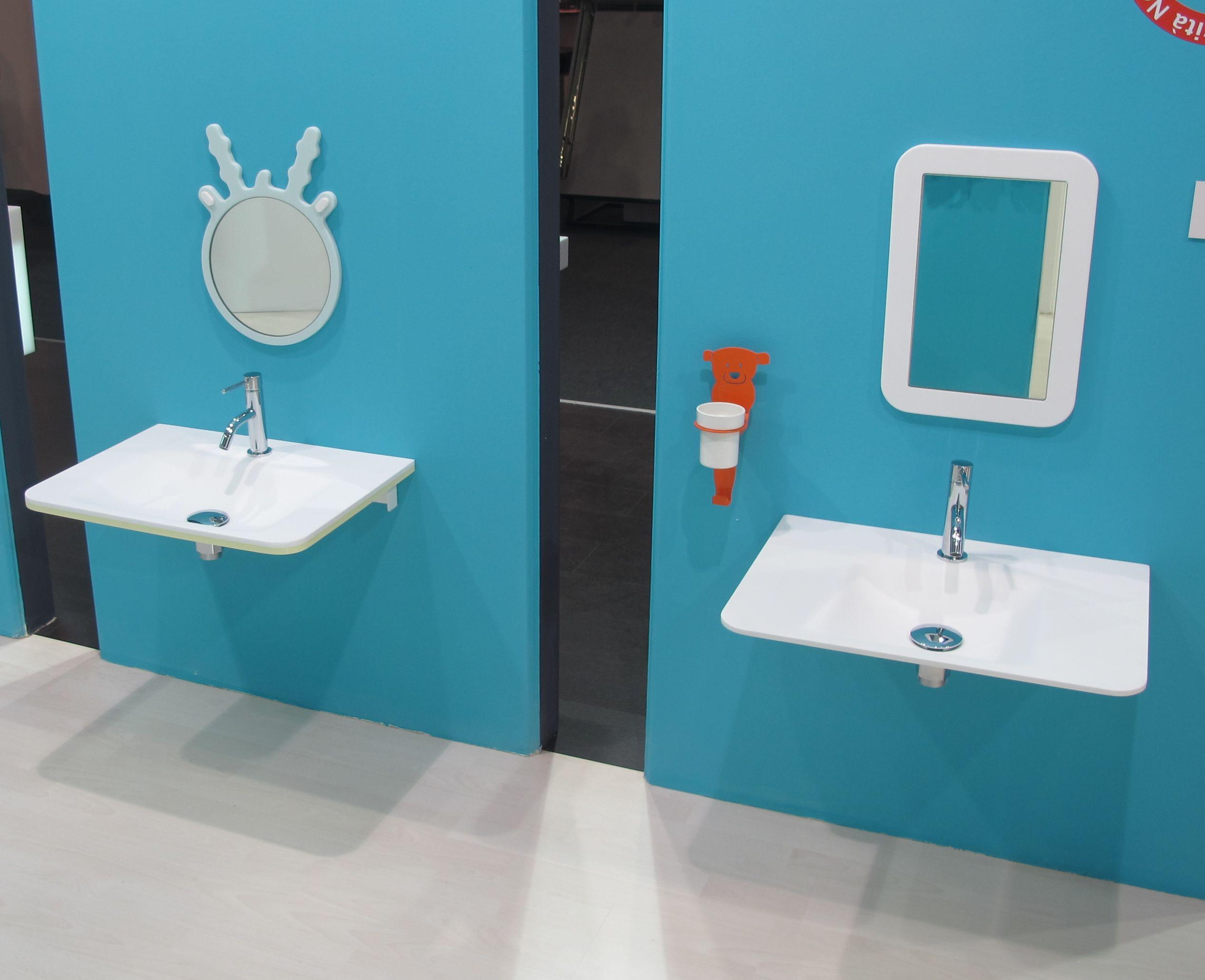 Lavoare pentru camere de baie copii de la firma italiana Ponte Giulio