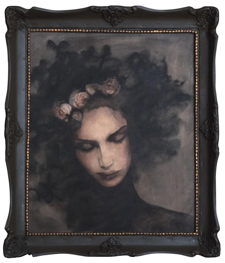 Lisa Melisa, pictura 52 x 60 cm, artist Barbara Hangan