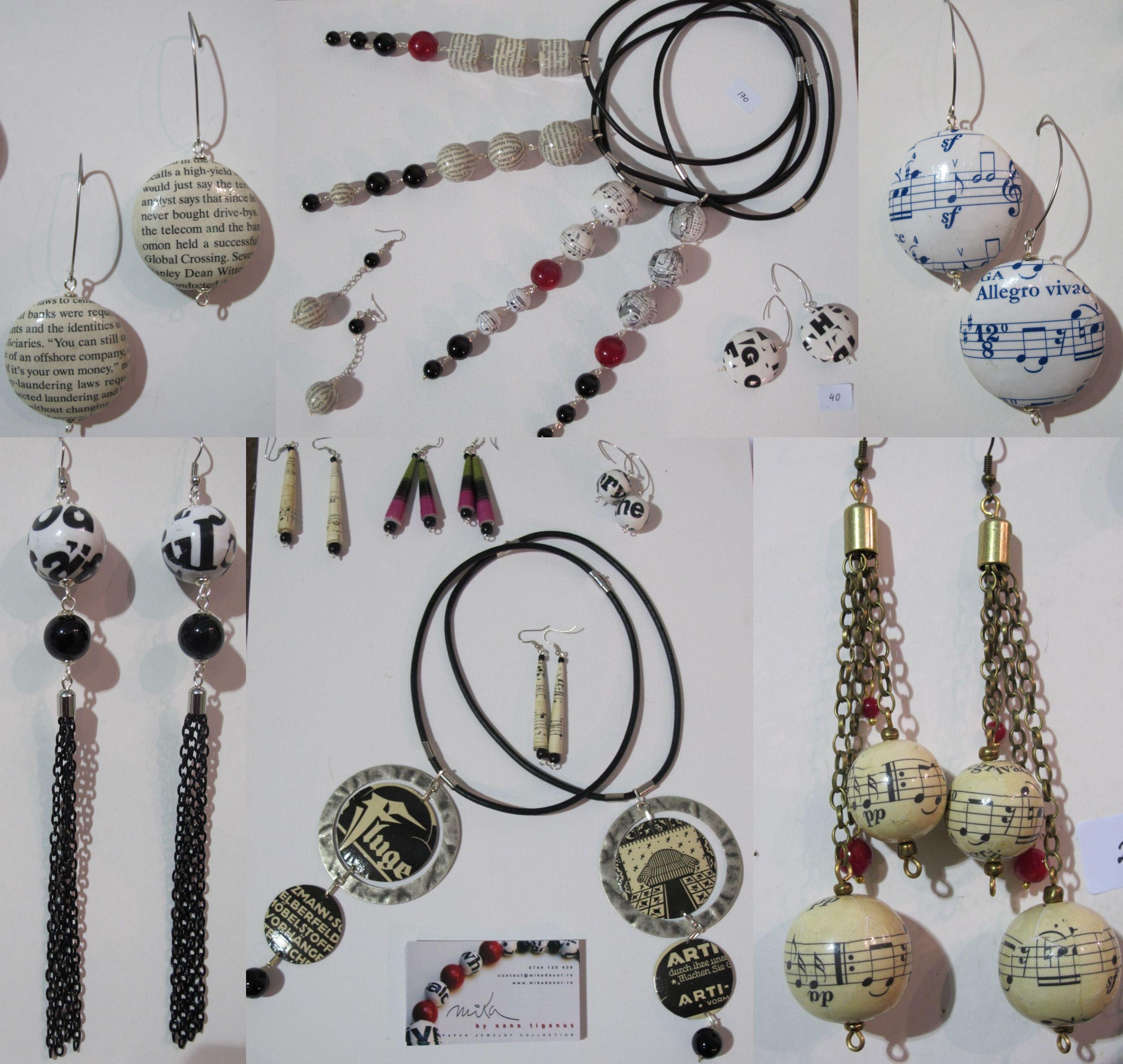 Oana Tiganus a lucrat in publicitate, dar acum s-a dedicat bijuteriilor handmade si le creeaza sub brandul Mika Decor. Pasionata de reclame veci, le integreaza frumos in pandantive si coliere.