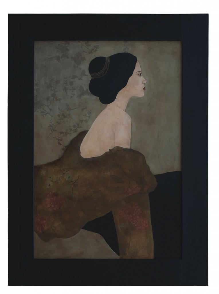 Mima, pictura 90 x 117 cm, artist Barbara Hangan