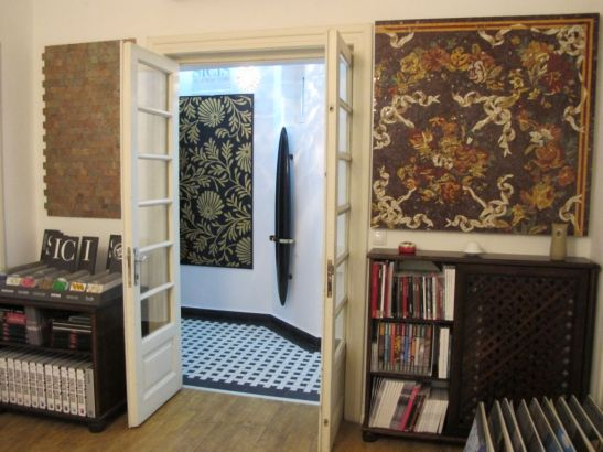 Mozaic de arta mostre SICIS in showroomul Dream Home Design