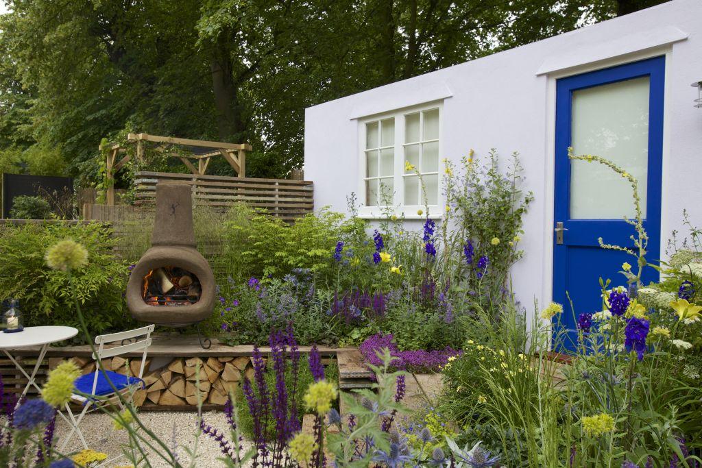 Prima casa, prima gradina, design Nilufer Danis, proiect din cadrul RHS Hampton Court Palace Flower Show 2012