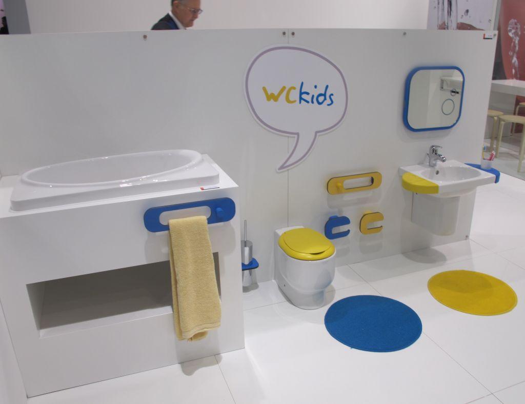 Colectia Wckids pentru camere de baie pentru copii de la Sanindusa