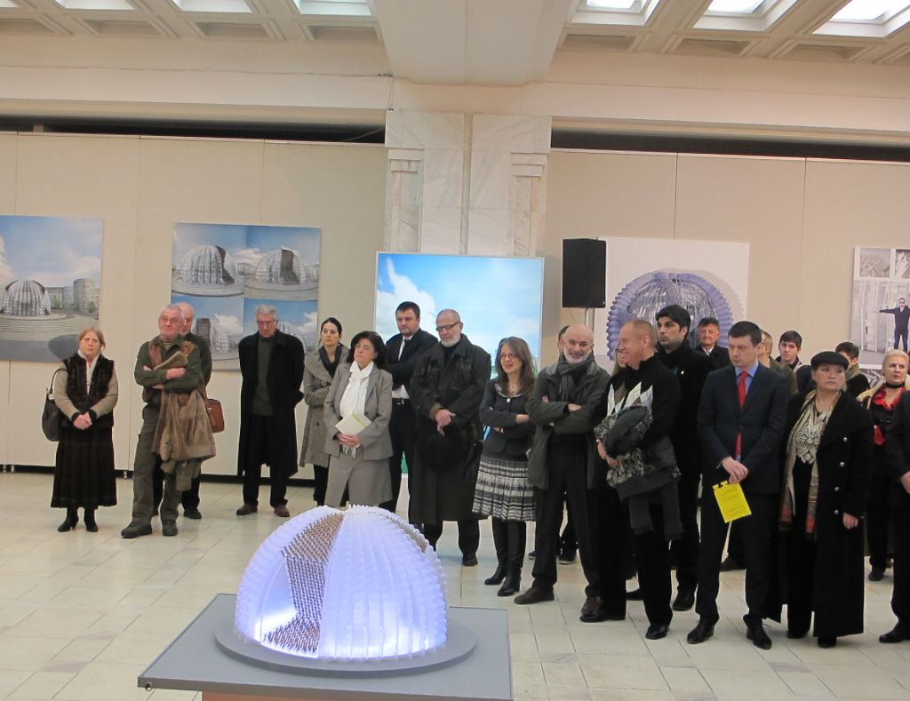 Vernisajul Monumentul Marii Uniri artist Ioan Bolborea