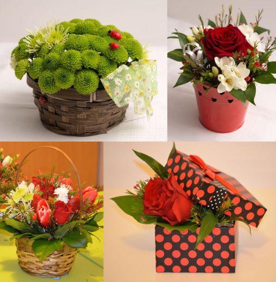 Aranjamente florale propuse de Andeli Design