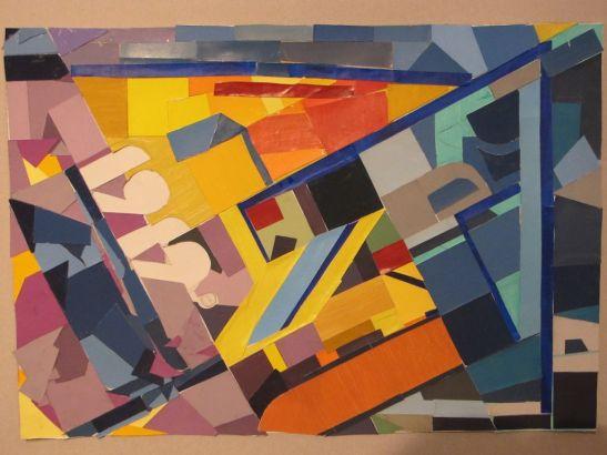 Bauhaus 1919 contraste cromatice lucrare de grup Cristiana Costin, Madalin Truica, Mircea Vlase, Cicea Raul