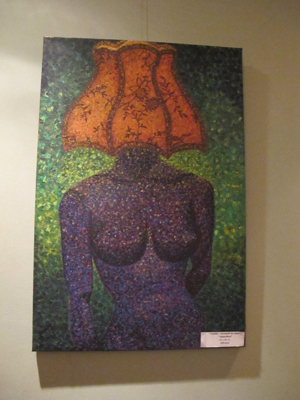 Femeia accesoriu de salon / Objectified, 60 x 40 cm, 120 euro, Artist Orly Yanay