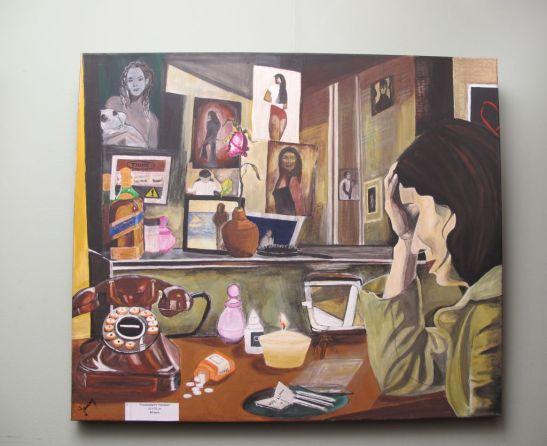 Framanatari/ Choises, 60 x 70 cm, 80 euro, Artist Orly Yanay