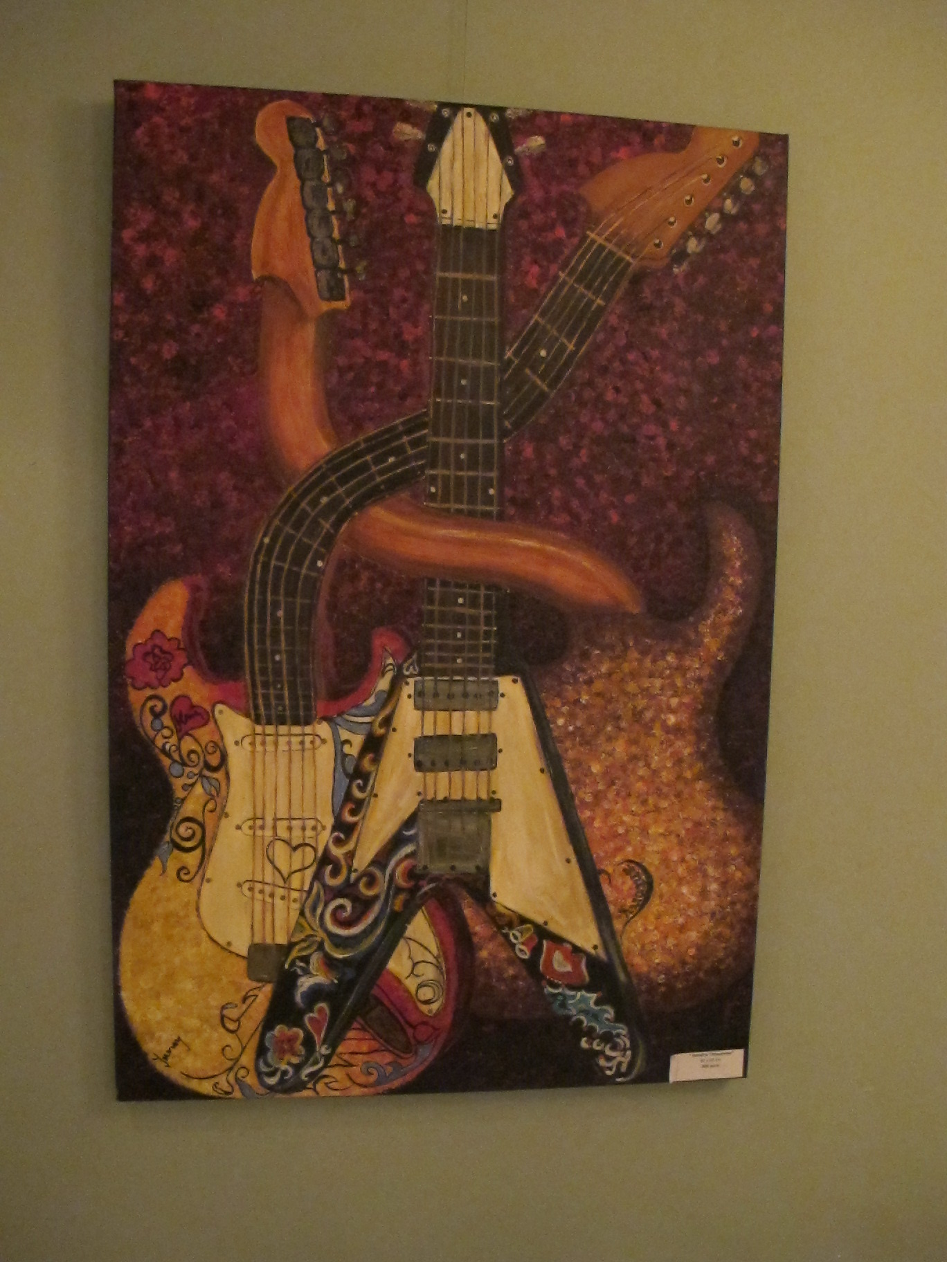 Hendrix Threesome, 90 x 60 cm, 200 euro, Artist Orly Yanay