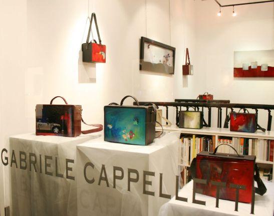 Lucrarile Elenei Vijoli expuse la galeria Gabriele Cappelletti din Milano