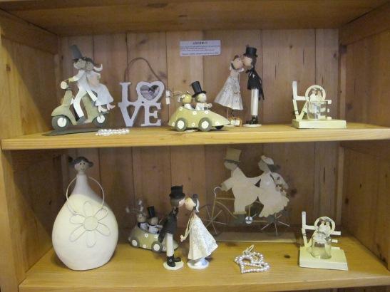 Marturii si figurine pentru nunta la Pierrot decoratiuni