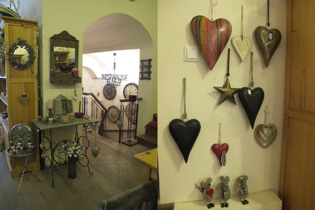 Mic mobilier, oglinzi si decoratiuni rustice, vintage sau clasice la Pierrot