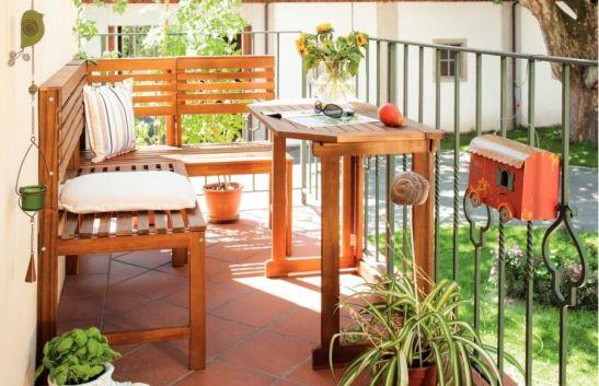 Mobilier si decoratiuni pentru balcon de la kika 2013