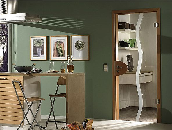 Model usa sticla Due Mare de la Exclusive Doors