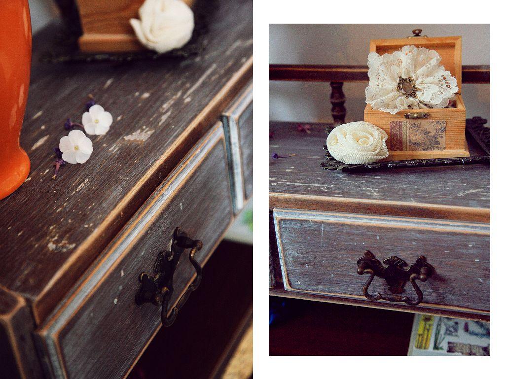 Obiecte de decor si patina mobilierului spun o poveste. Proiect amenajare Valdecor
