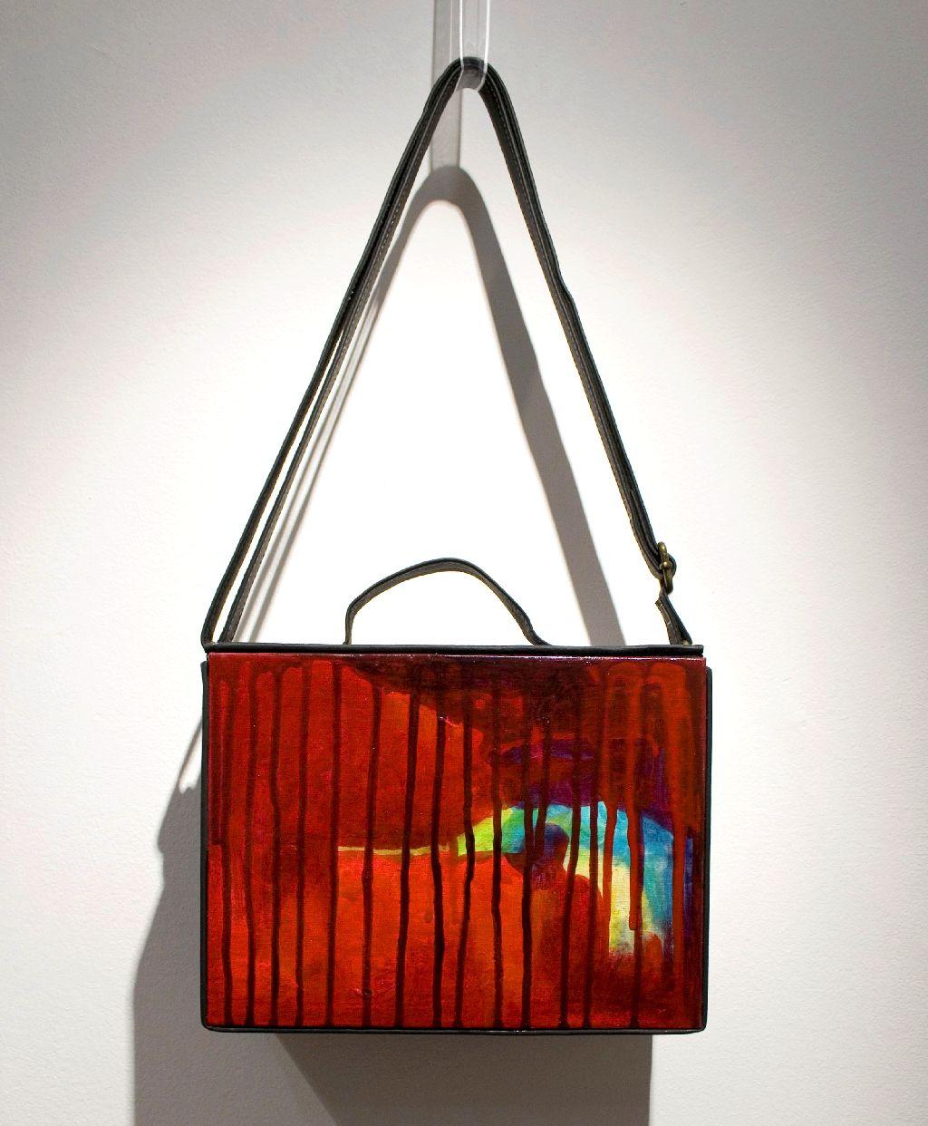 Pictura incastrata in geanta de Elena Vijoli