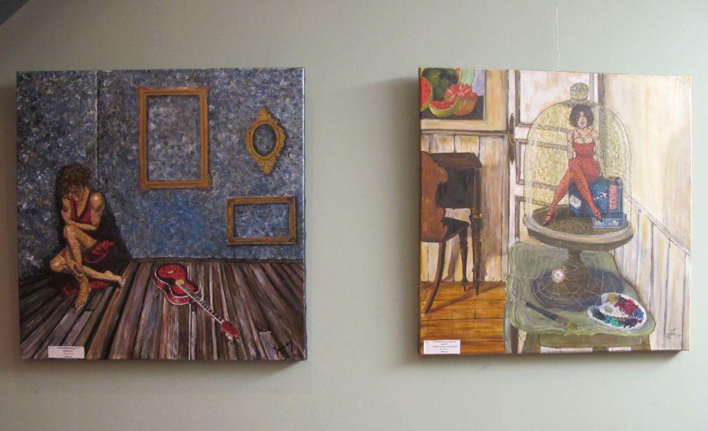 Picturi realizate de Orly Yanay expuse la Reader's Cafe