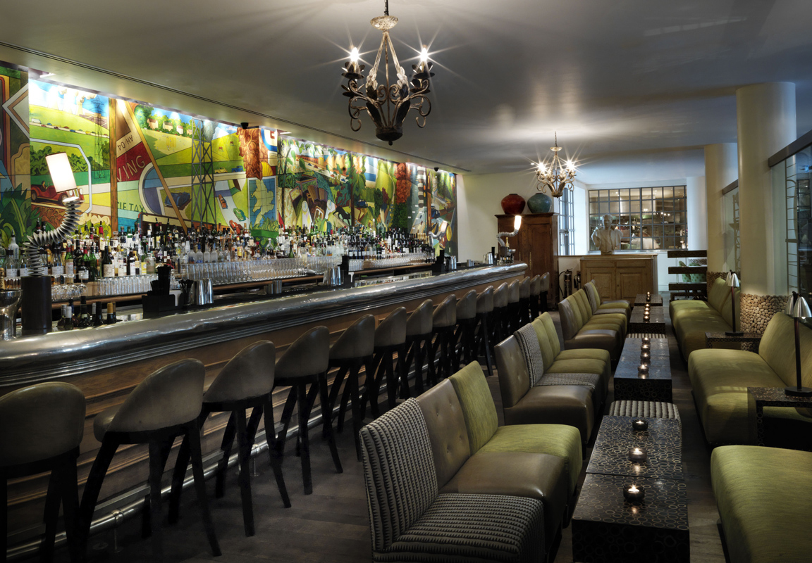 Refuel bar and restaurant la The Soho Hotel