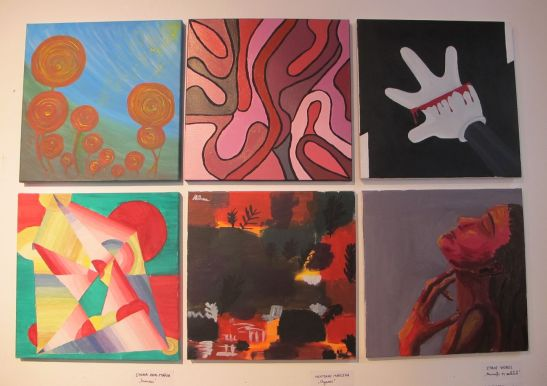 Galeria UNArte Perceptia cromatica expozitie 30 martie 2013
