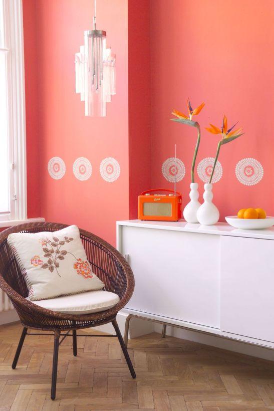 adelaparvu.com despre decorarea cu sabloane