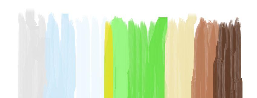 Alb verde si maro