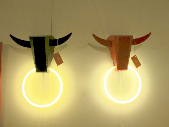 Bull lampa designer Constantin Alupoaei, IZZI Design, Autor 4 noiembrie 2012