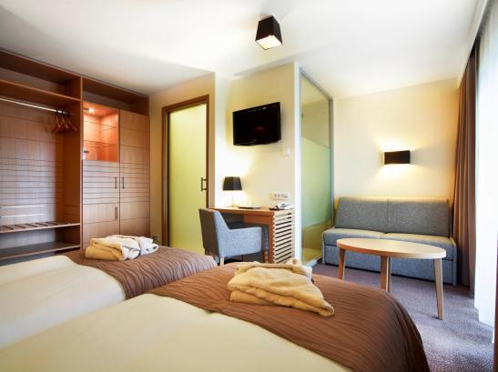 Camera cu doua paturi la Hotel Ana Sport