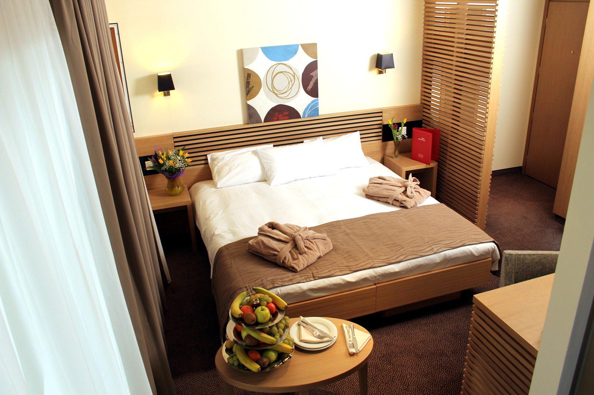 Camera cu pat dublu la Hotel Ana Sport