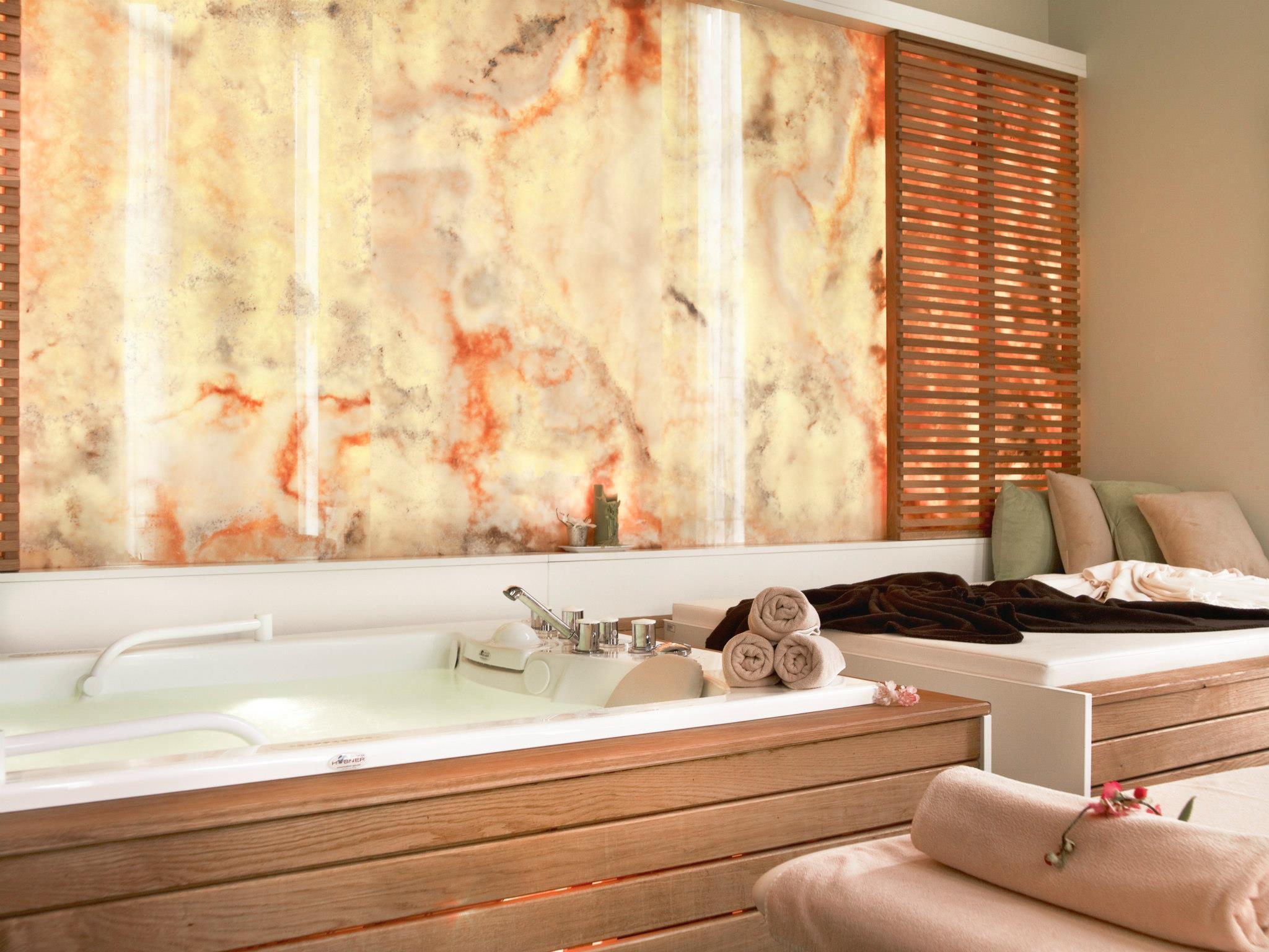 Camera de bai si masaj de la centrul Spa al Hotelului Ana Sport
