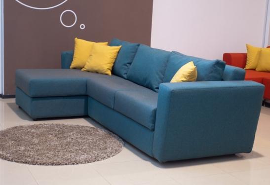 Canapea Joy, dimensiuni 284x96-160cm, 5198 lei cu saltea de 140x195x12cm, de la Bed & Sofa