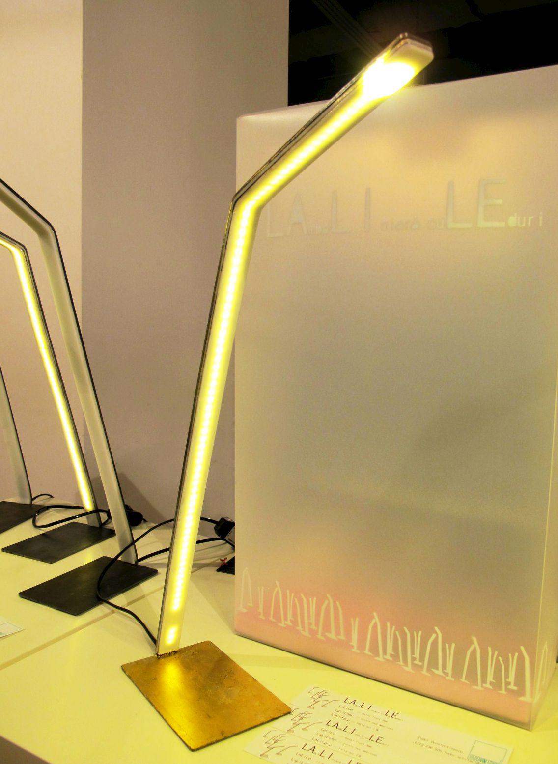 Colectia de lampi cu LED LaLile designer Tudor Constantinescu, Ideogram Studio, Autor 4 noiembrie 2012