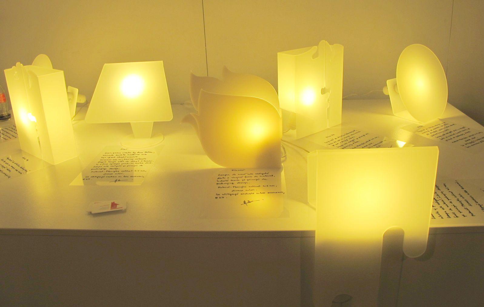 Colectie de lampi create de designer Anca Fetcu, Autor 4 noiembrie 2012