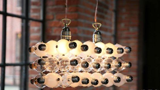 Corp de iluminat ce include si becuri vechi de la Bulbs Unlimited