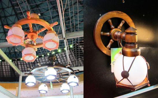 Corpuri de iluminat cu timona potrivite in restaurante de la Deco concept lighting